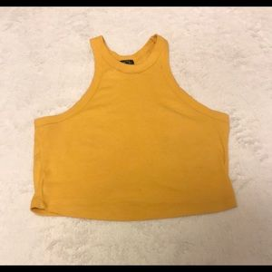Rue 21 Mustard Yellow Crop Top - Medium